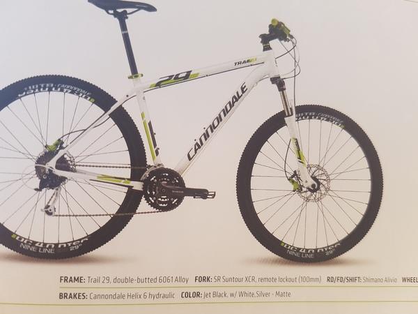 Cannondale - Trail 29 4