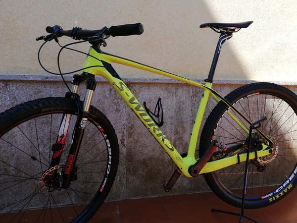 Specialized - S-WORKS  STUMPJUMPER HT  CARBON 29