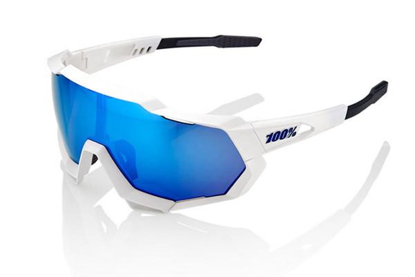 altra - 100%  Speedtrap Bianco/Blu