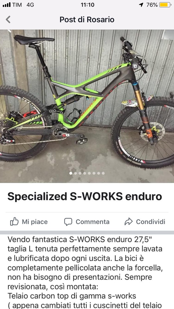 Specialized - Enduro s works