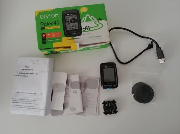 Bryton - ciclocomputer gps bryton rider 40