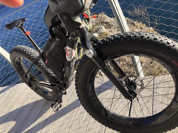 4US - Fat bike telaio e ruote in carbonio