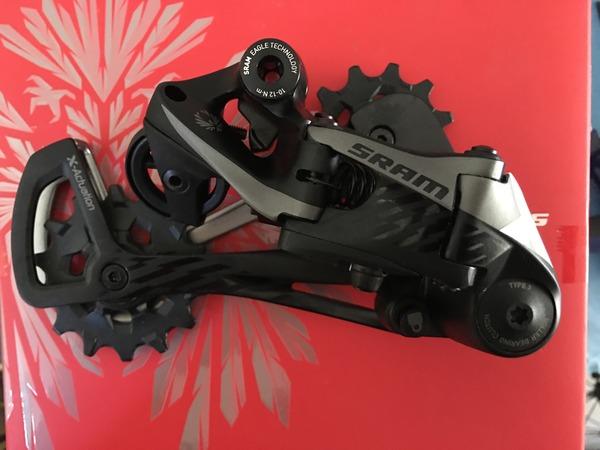 Sram - Cambio X01 Eagle Black 12 velocita'