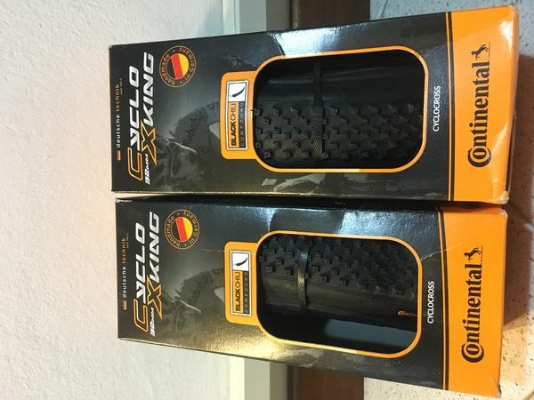 Continental - Gomme gravel/cyclocross Continental Cyclo Xking 32mm