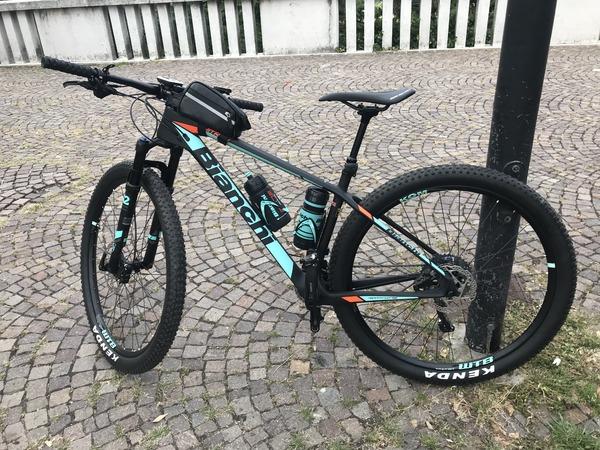 Bianchi - Nitron 9.2 - XT/SLX 2X11