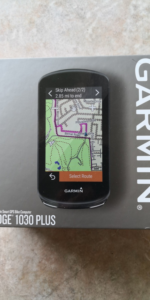 Garmin - edge 1030 plus nuovo