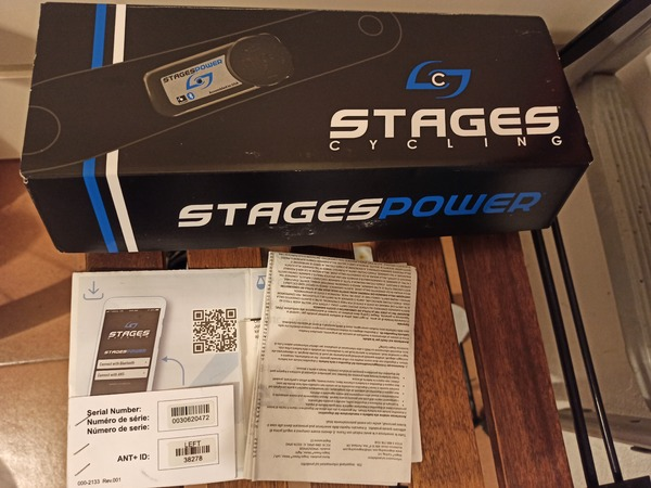 Stages - Shimano r8000 -172,5