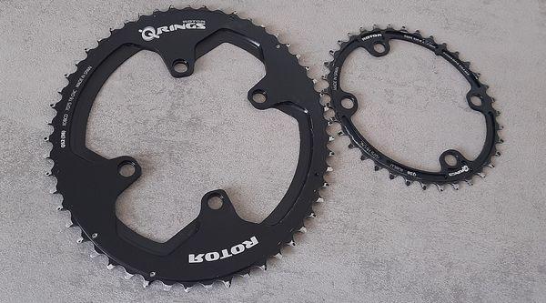 altra - ROTOR corone Rotor Aldhu ovali per Shimano 9100/8000  -52/36