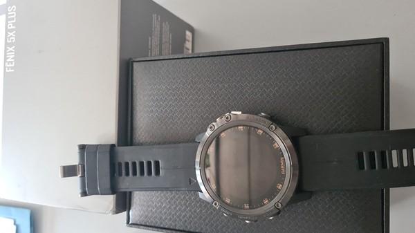 Garmin - Fenix 5x plus sapphire titanio