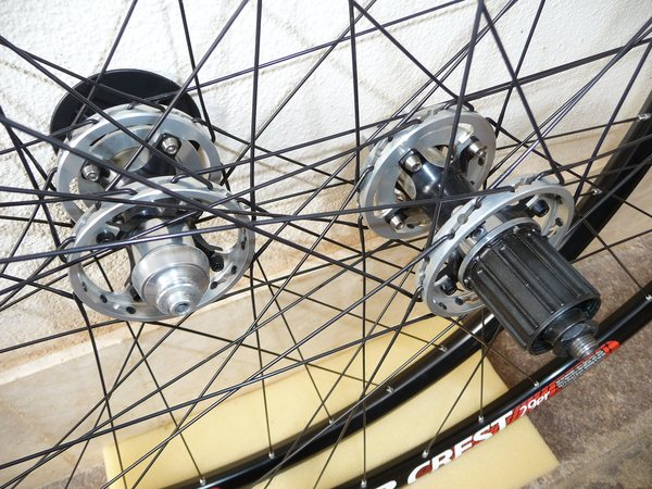 "Boeris - Coppia ruote 29"" ZTR Crest mozzi Boeris CNC, 1596g"