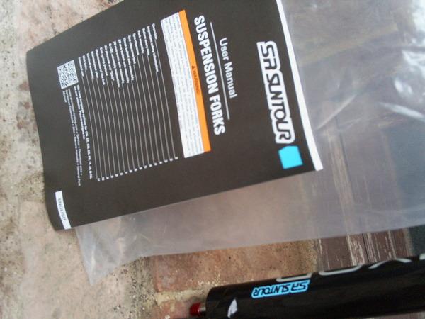 SR Suntour - Epixon 26 120mm 1 e 1/8