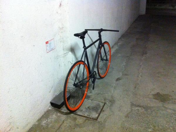 altra - bici scatto fisso, freno contropedale unbranded