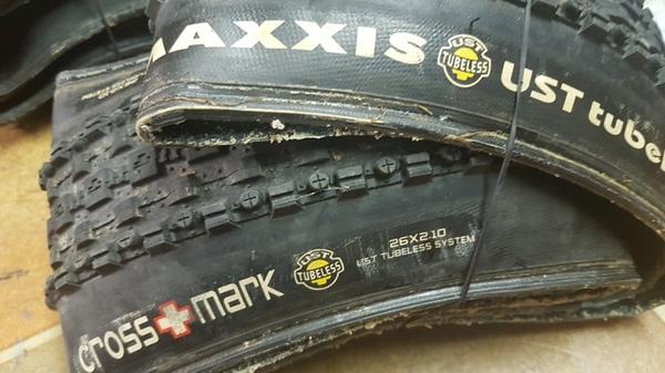 Maxxxis - Coppia copertoni Maxxis Crossmark 26x2.10, UST