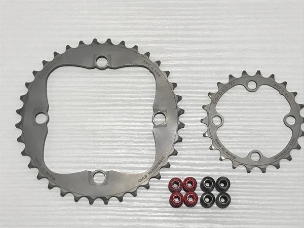 Carbon Ti - X Ring Evo 36/22