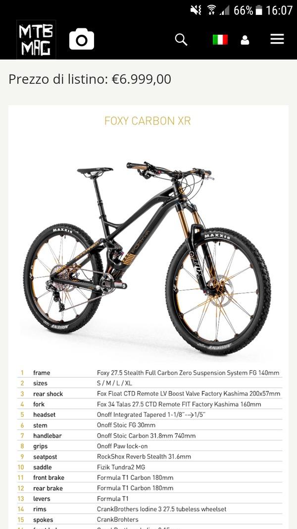 Mondraker - Foxy Carbon XR