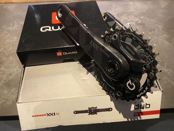 Sram - Quarq XX1 Pedivelle più misuratore Potenza