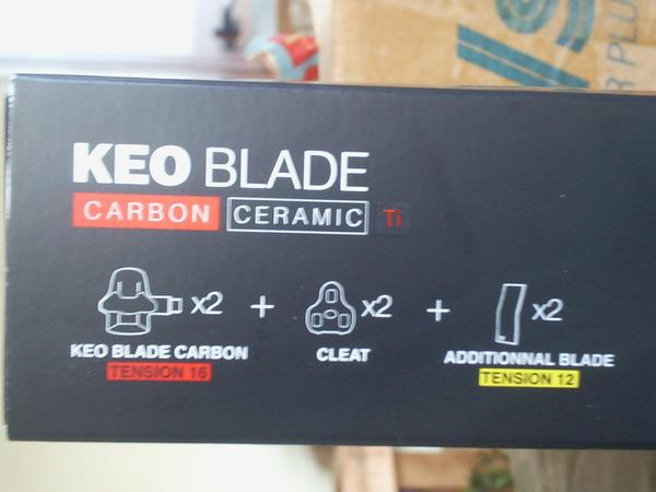 Look - Keo Blade CARBON CERAMIC Ti 12/16 2021