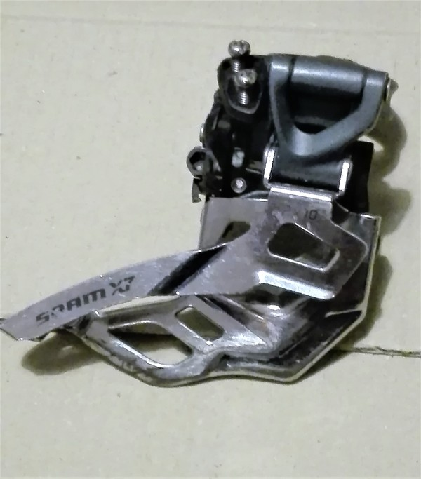 Shimano - Comando e deragliatore 3x Shimano deore LX