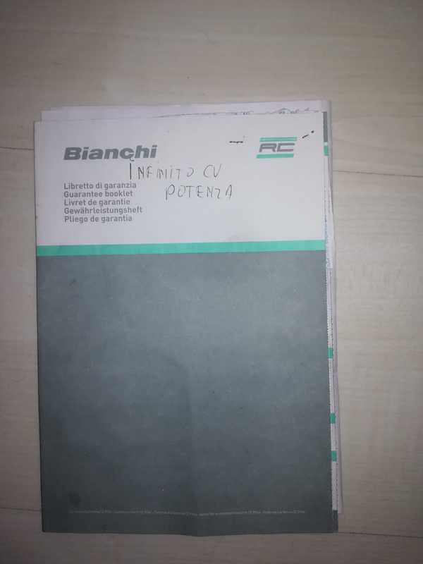 Bianchi - Infinito cv