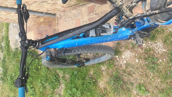 Giant - E-Bike full Giant e trance pro 2019 taglia M