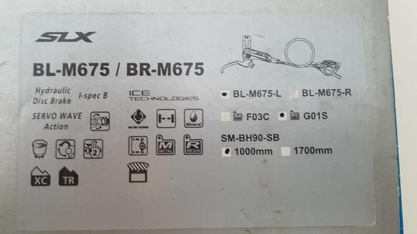 Shimano - SLX M675