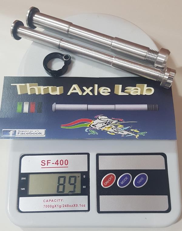 altra - Thru Axle Lab  Perno passante modifica Focus RAT