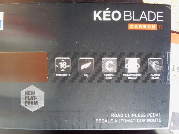 Look - KEO BLADE CARBON Ti 16