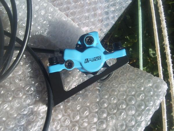 Tektro - DRAKO blue/black Limited