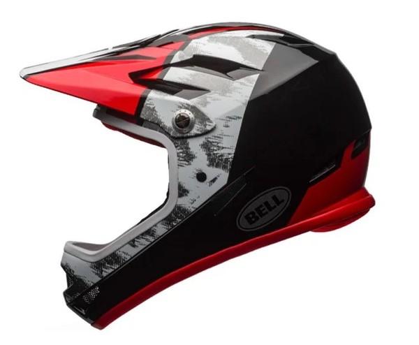 Bell - SANCTION  RED BLACK WHITE