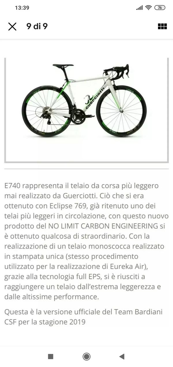Guerciotti - Alto modulo E740