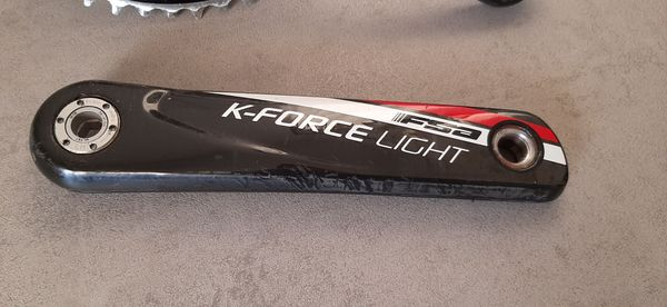 FSA - guarnitura K-Force Light BB386 Evo