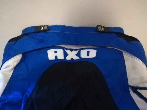 Axo - Racing Nickel/Pistol Usa36Eu52/XL whiteblu
