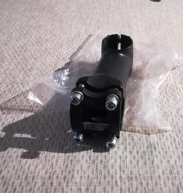 altra -  3d-Cnc - 90mm light/reversibile nero-opaco(diametro manubrio 25,4mm)