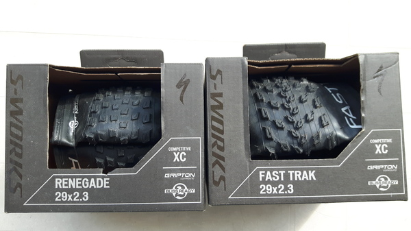Specialized - Fast Track/Renegade S-Work