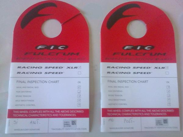 Fulcrum - Racing Speed 50 XLR Cult
