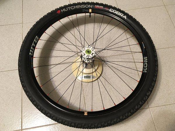 """Kento - Coppia ruote complete Kento 27,5"""" per lefty"""