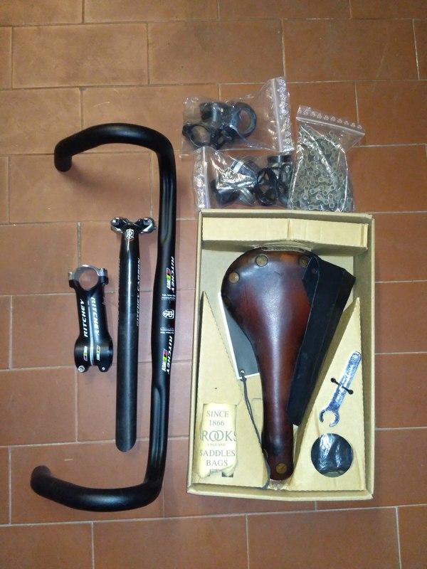 Vetta - telaio titanio artigianale italiano corsa