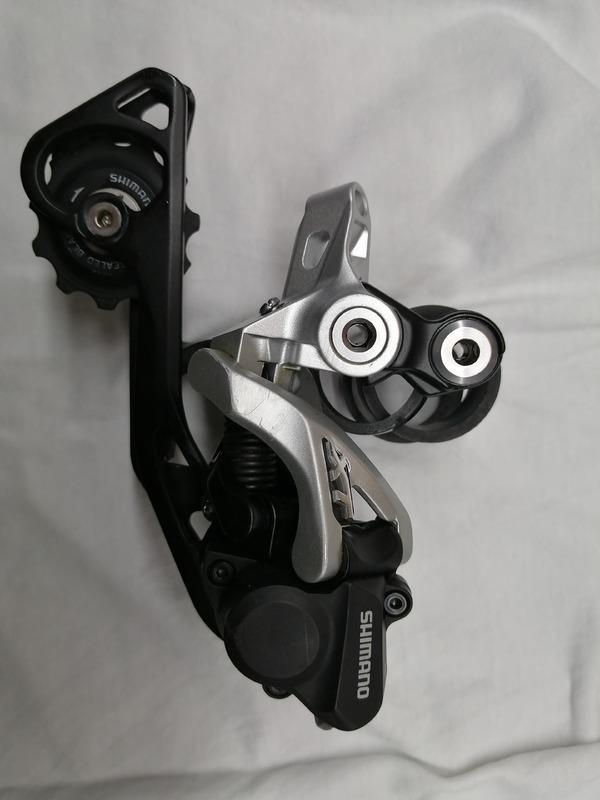 Shimano - XT Rear Derailleur 10-speed RD-M786 GS Shadow+silver