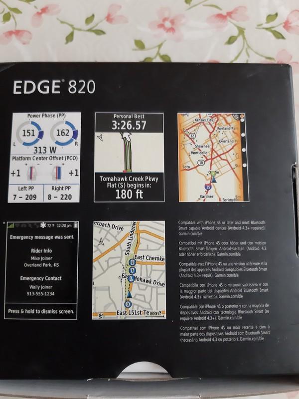 Garmin - Edge 820
