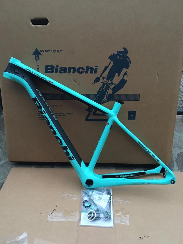 Bianchi -  methanol CV in carbonio