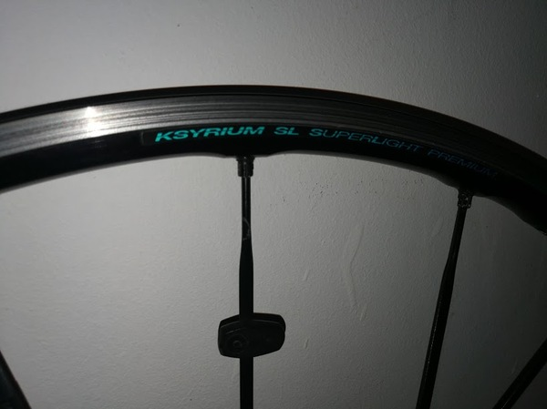 Mavic - ksyrium sl superlight
