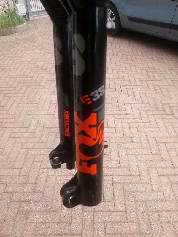 Fox Racing Shox - 38 factory ebike